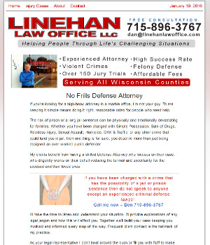 linehan law office in black river falls, wi