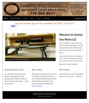 web site for country gun works
