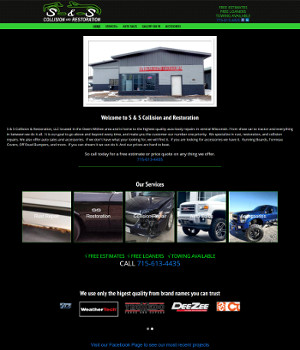 S & S Collision and Restoration in Withee Wisconsin