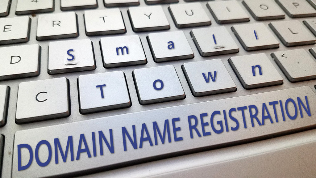 domain registration for small towns